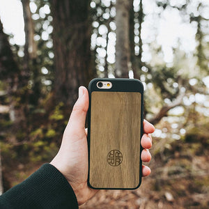 Protective Wood iPhone 7/8 Case