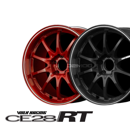 Volk Racing CE28RT 17X9.5 BURNING RED 5x114.3 +39