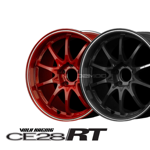 Volk Racing CE28RT 18X10.0 Black Edition 5x114.3 +39