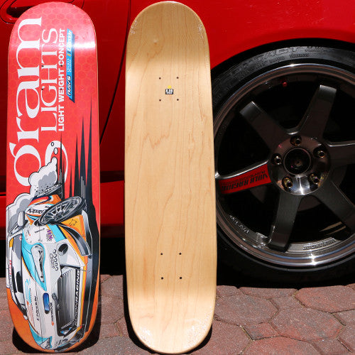 Gram lights Formula Drift FRS Skate Deck