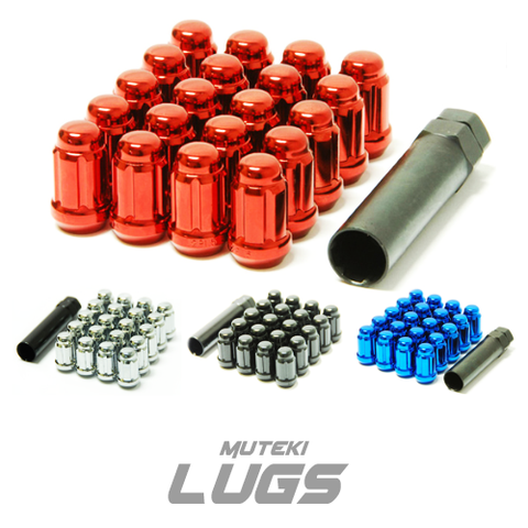 Muteki Lug Nut Closed & Open Ended (Multiple Colors & Pitch)