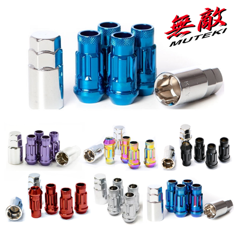 Muteki SR48 Locking Nuts (Multiple Colors & Pitch)