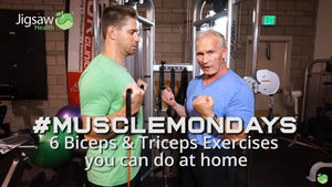 Biceps and Triceps Routine you can do at Home | #MuscleMonday