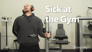 Sick at the gym | #FunnyFriday