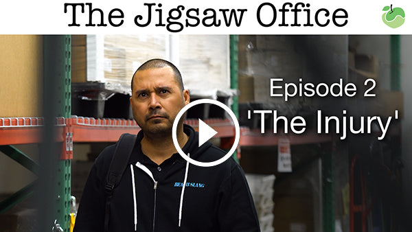 The Jigsaw Office - Episode 2 'The Injury'