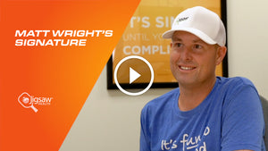 Matt Wright's Signature | We Love Pickleball, Too.