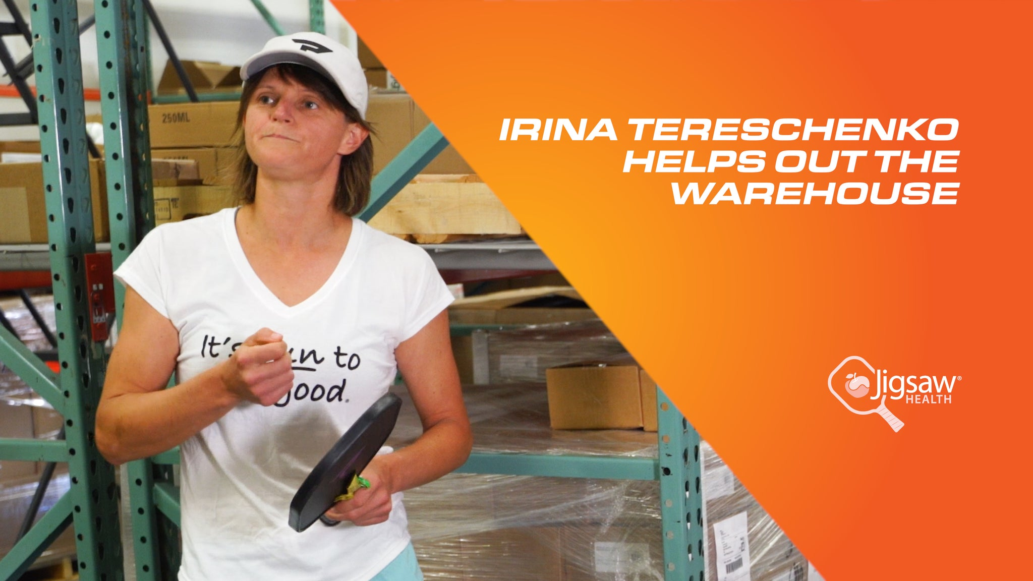 Irina Tereschenko Helps Out The Warehouse | We Love Pickleball, Too