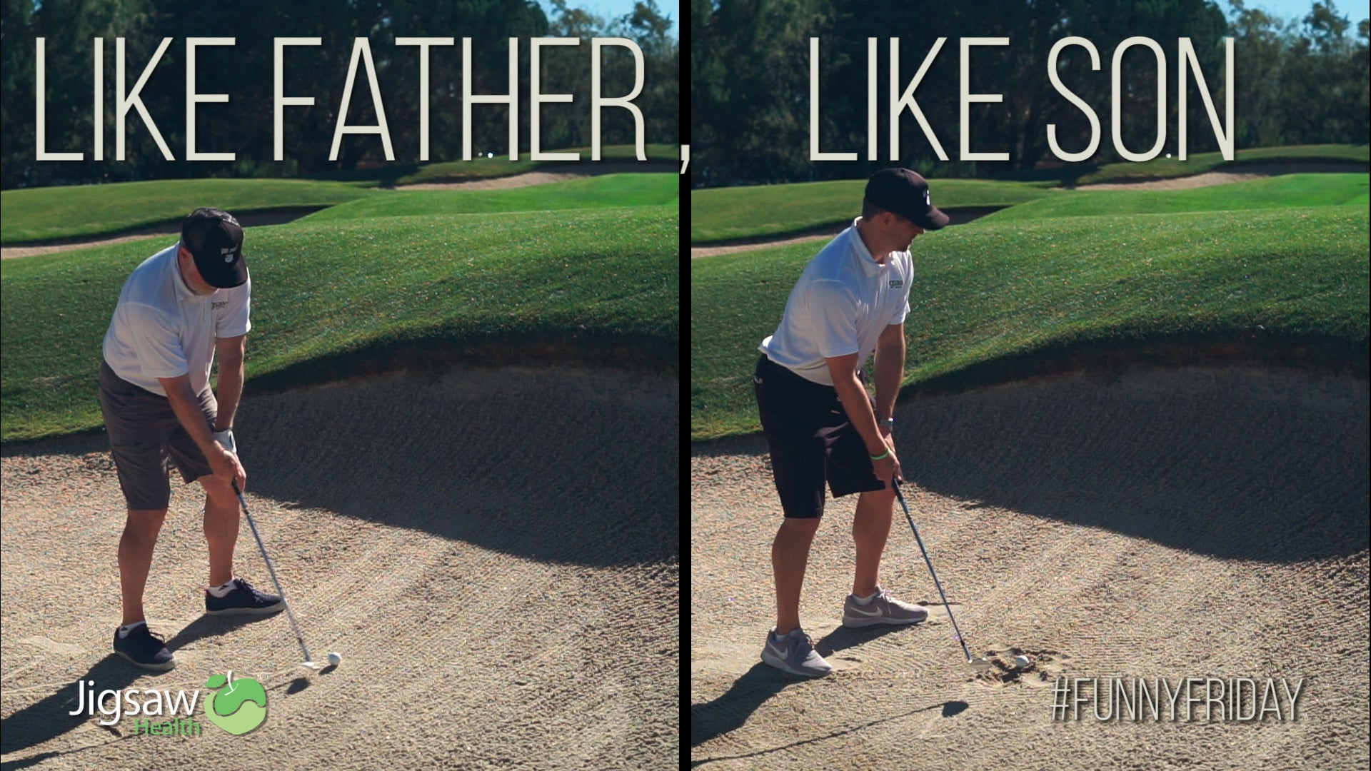 Like Father, Like Son. Almost. | #FunnyFriday
