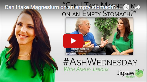 Should I take Magnesium on an empty stomach? | #AshWednesday