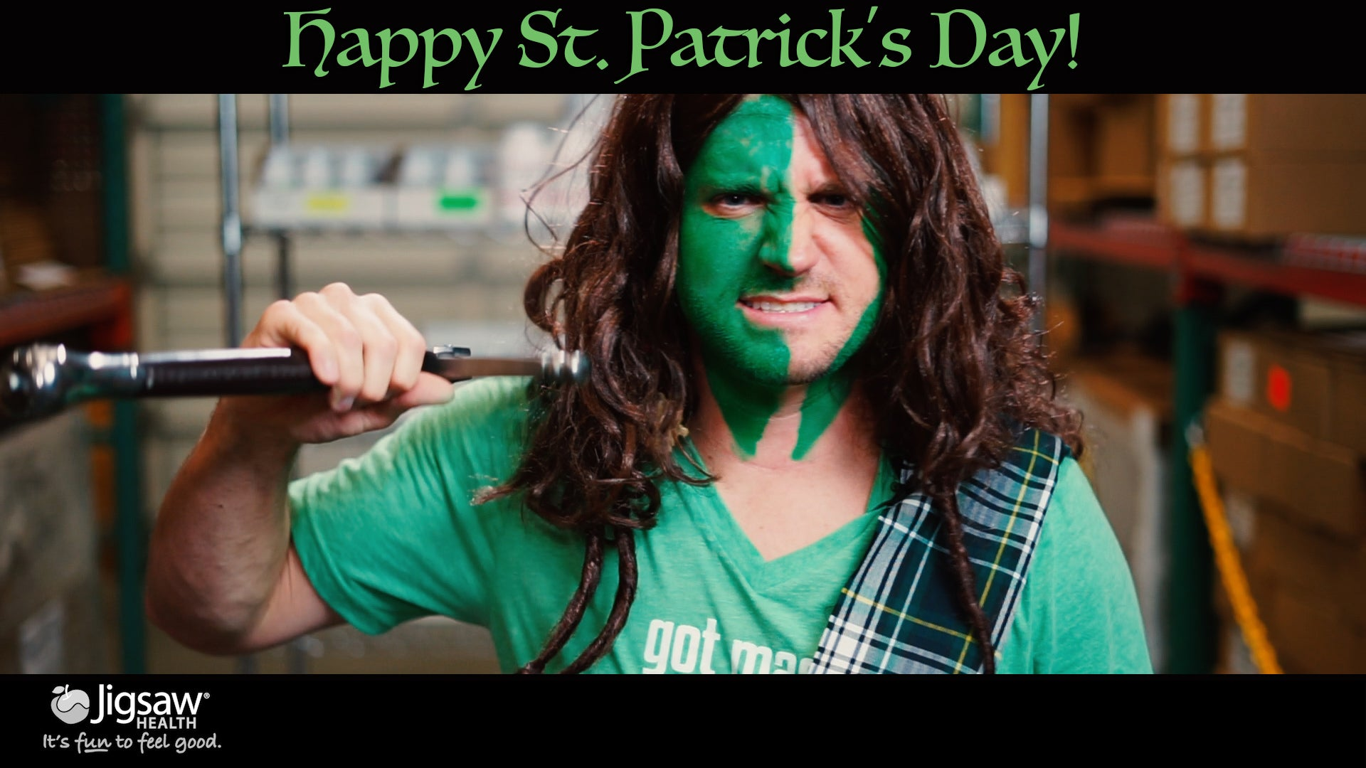 Patrick Goes Full Braveheart for St. Patrick's Day | #FunnyFriday