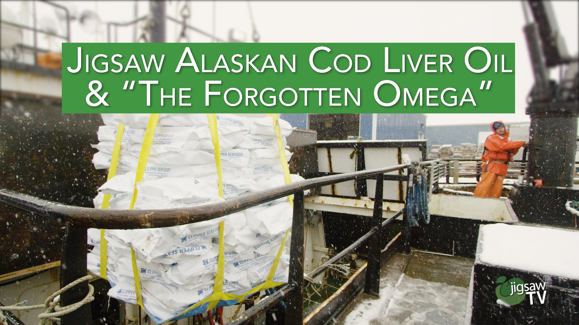 "Jigsaw Alaskan Cod Liver Oil & ""The Forgotten Omega"""