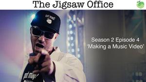 The Jigsaw Office Season 2 Episode 4: 'Making a Music Video' | #FunnyFriday