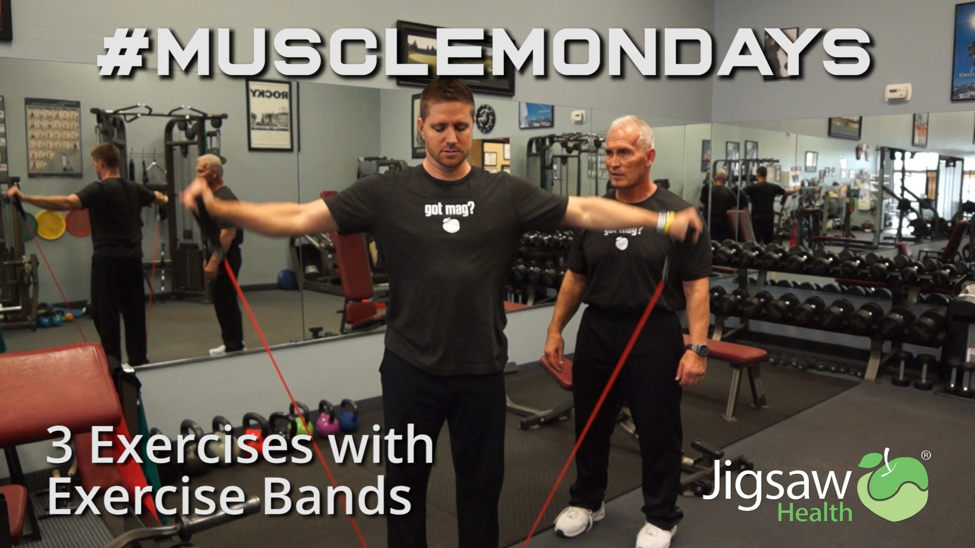 3 Exercises with Exercise Bands | #MuscleMonday