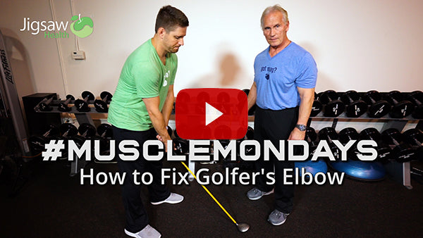 How to Fix Golfers' Elbow | #MuscleMonday