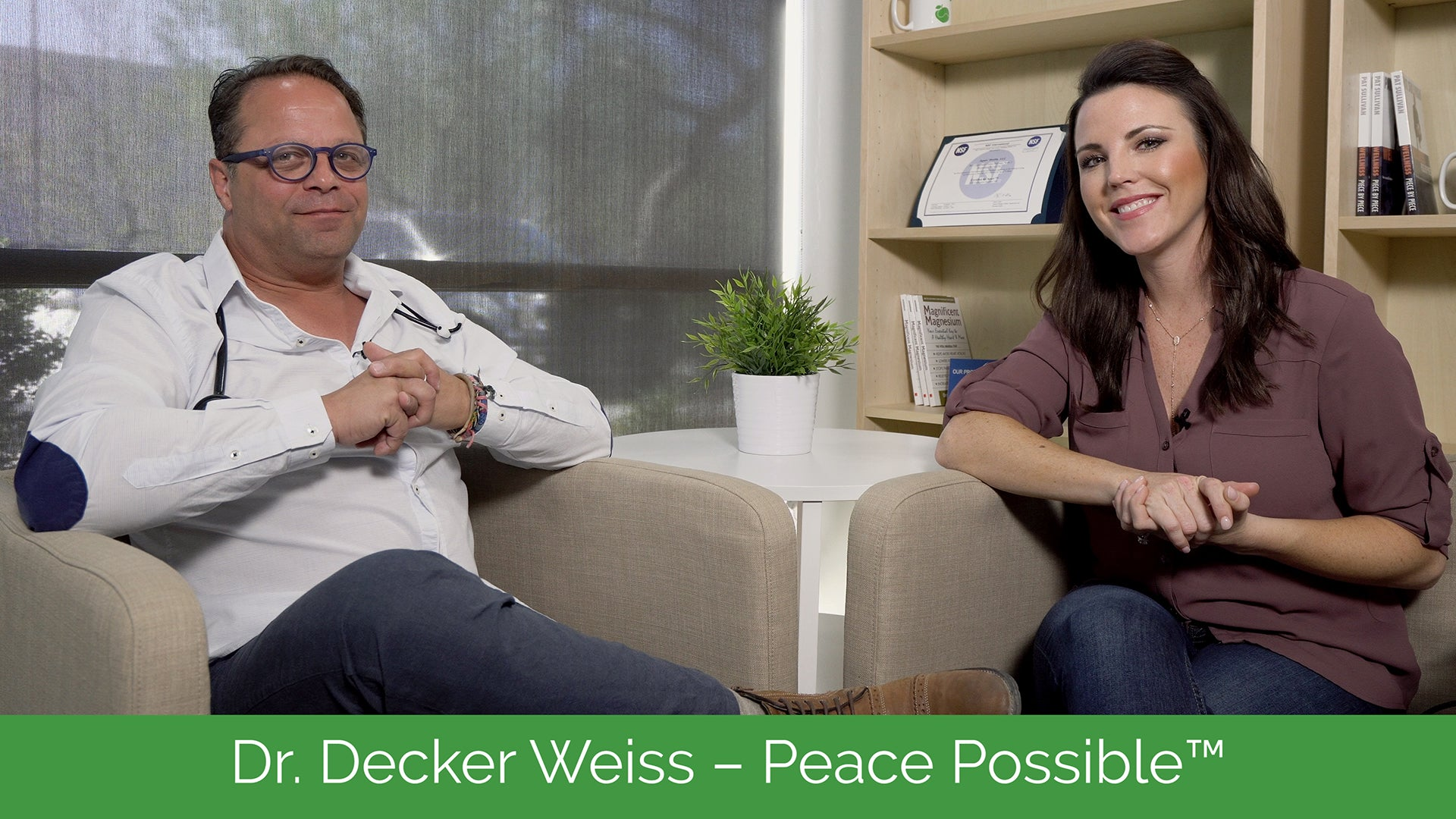 Dr. Decker Weiss - Peace Possible™ | #AshWednesday