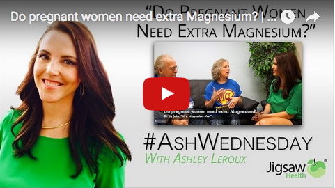 Do pregnant women need extra Magnesium? | #AshWednesday