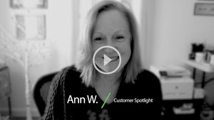 "Customer Spotlight: ""Good sleep is a gift..."" -Ann W."