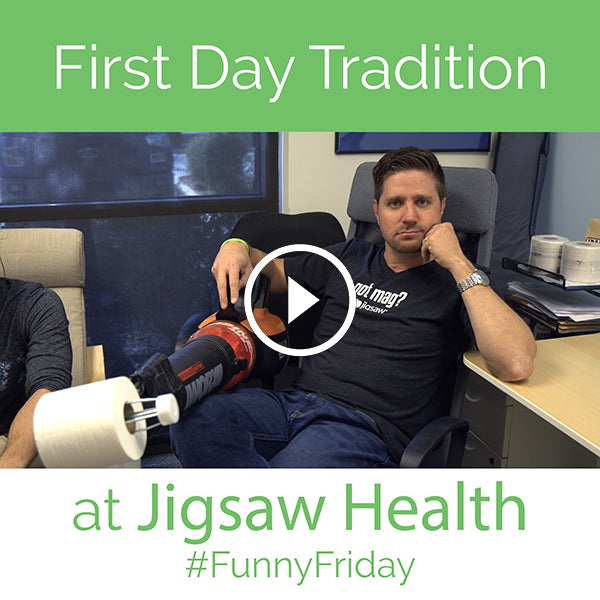 First Day Tradition at Jigsaw Health | #FunnyFriday