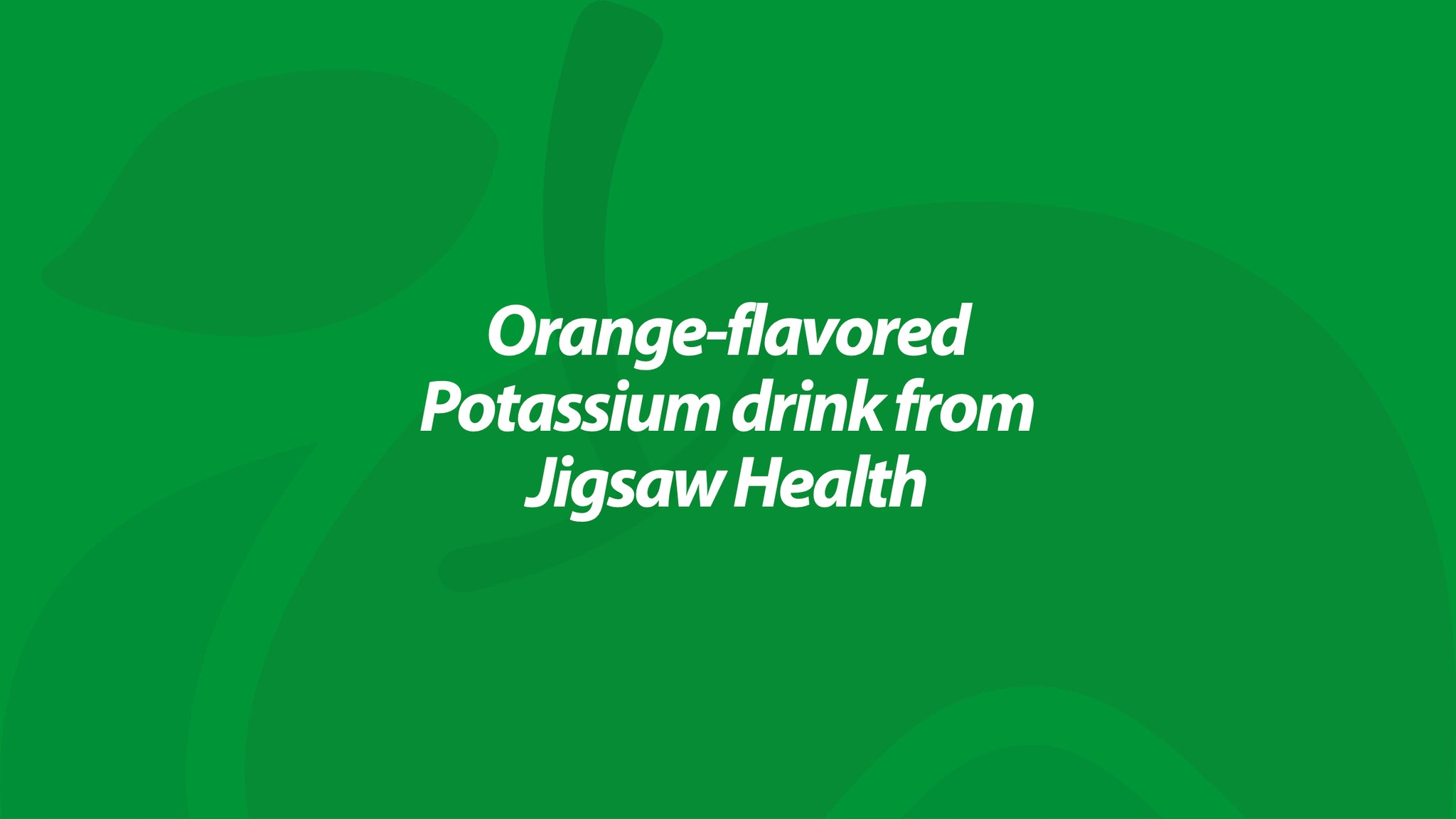 Jigsaw Pickleball Cocktail® - A delicious way to get 800mg of Potassium...