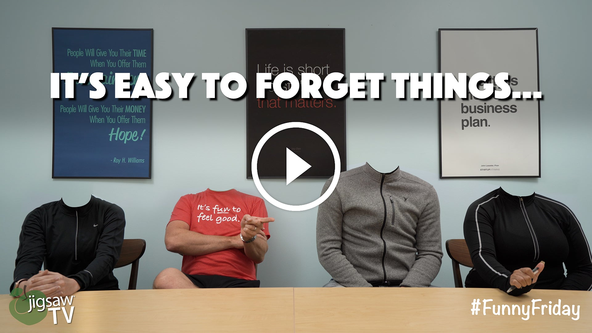 It's Easy To Forget Things... Part III | #FunnyFriday