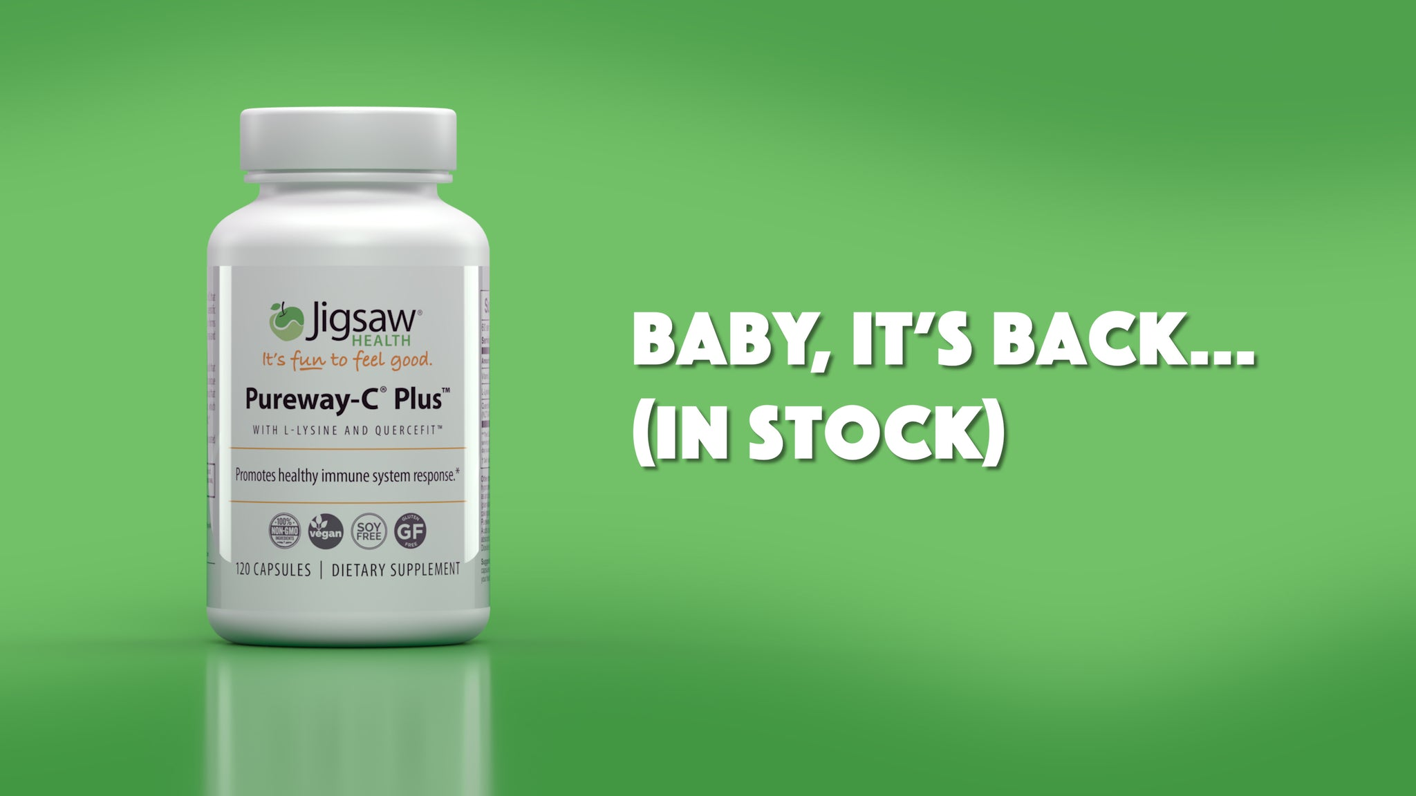 Baby It's Back: Pureway-C® Plus™ -- The Superior Vitamin C