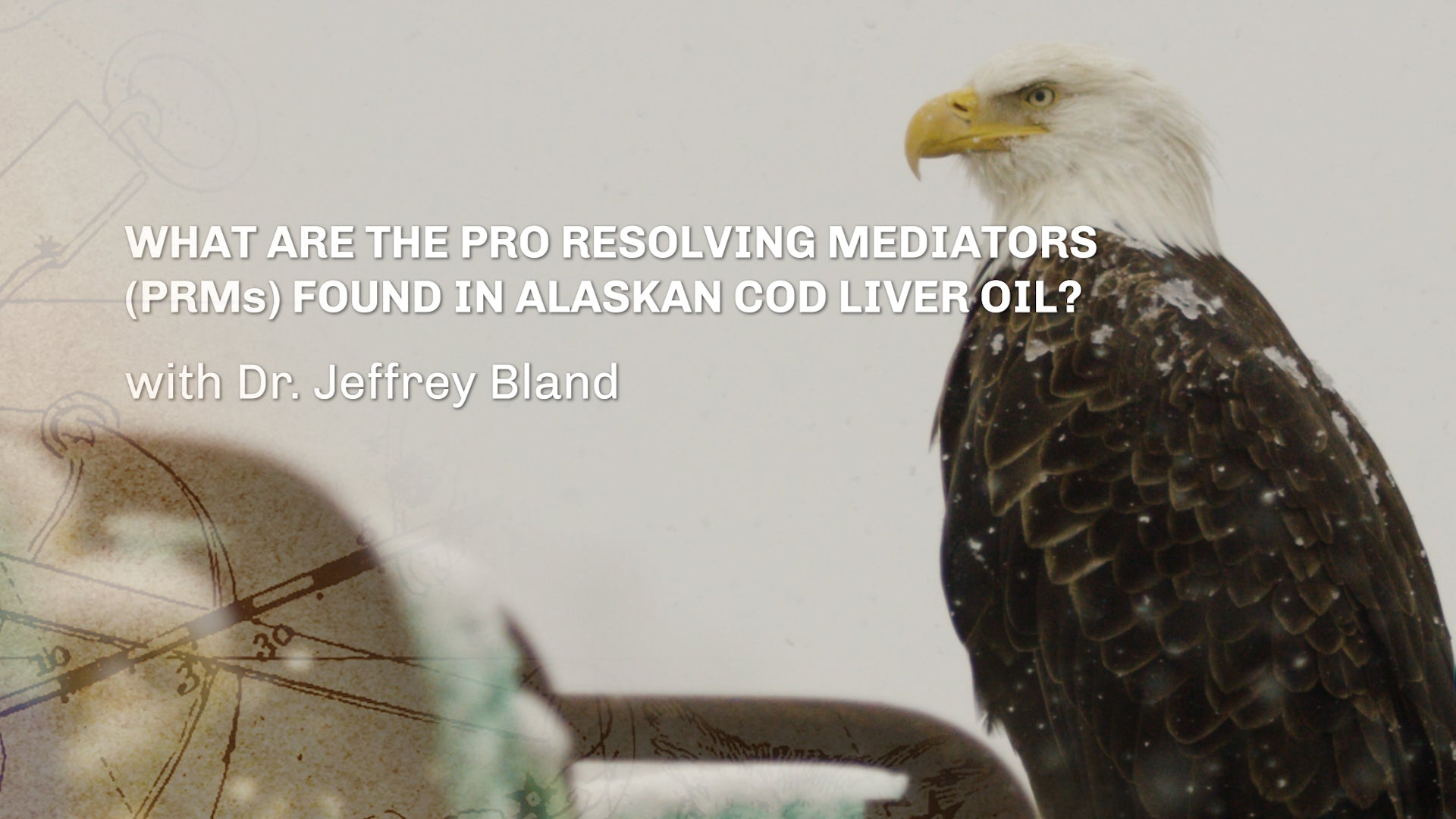 What are the Pro Resolving Mediators (PRMs) found in Alaskan Cod Liver Oil? With Dr. Jeffrey Bland