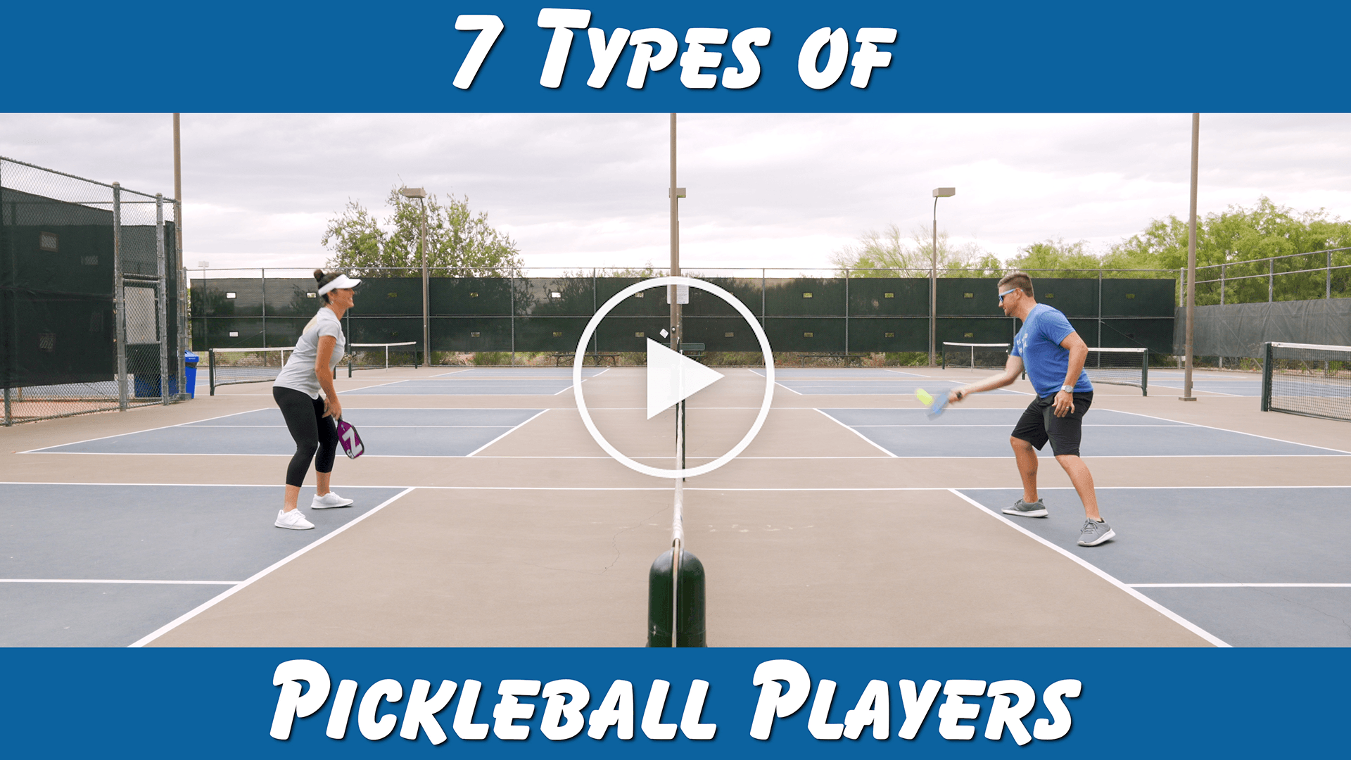 7 Types of Pickleball Players | #FunnyFriday