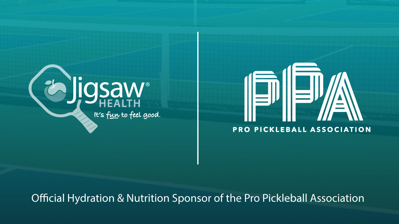 Jigsaw Health Joins The Professional Pickleball Association as The Official Nutrition and Hydration Sponsor