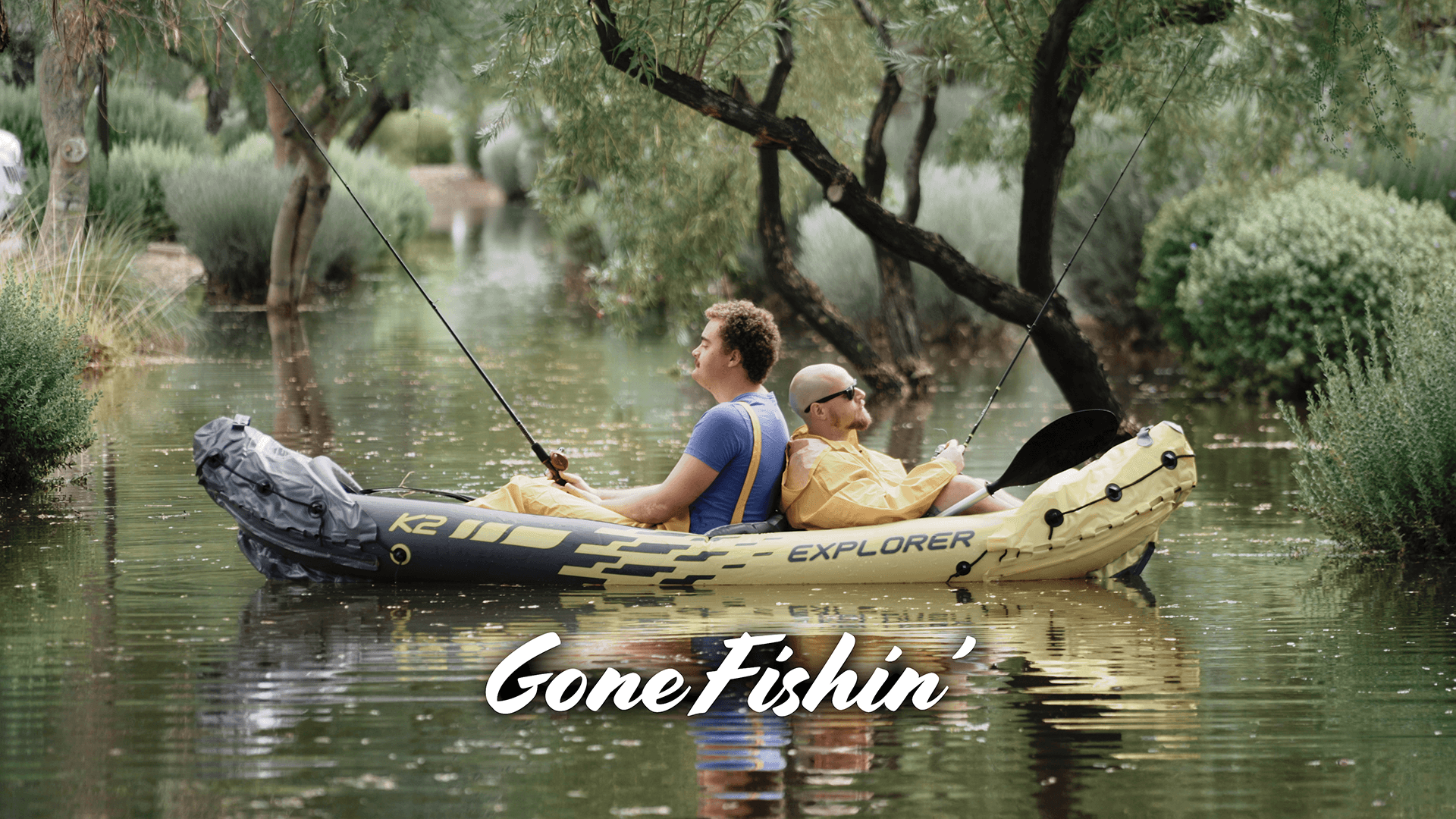 Gone Fishin' | #FunnyFriday
