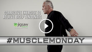 Corrective Exercise to Relieve Bicep Tendonitis | #MuscleMonday