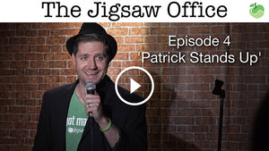 The Jigsaw Office - Episode 4 'Patrick Stands Up' | #FunnyFriday