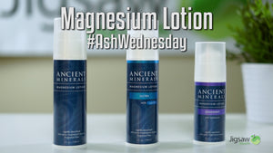 Ancient Minerals Magnesium Lotion Comparison | #AshWednesday