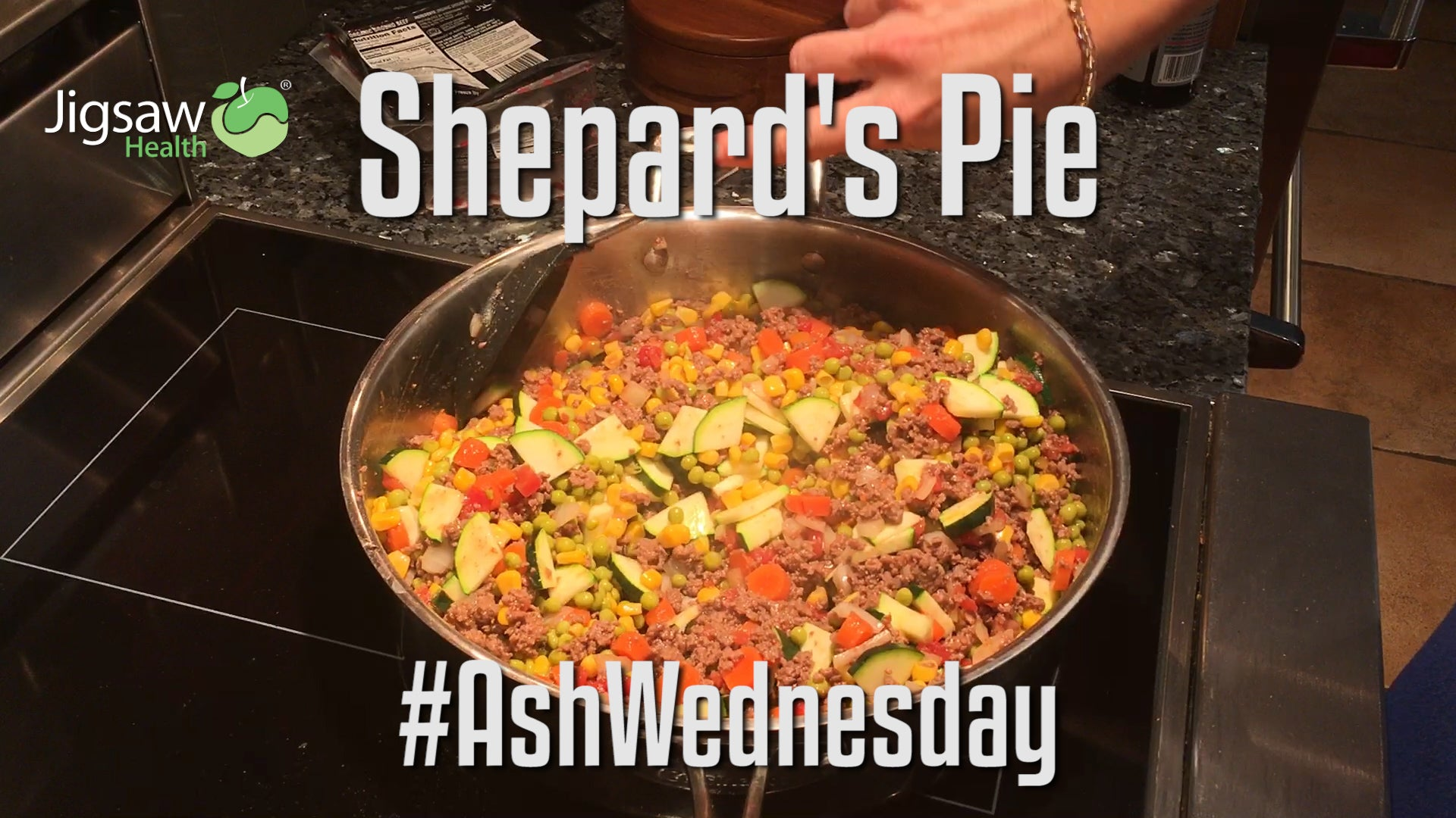 Low Carb Shepherd's Pie | #AshWednesday