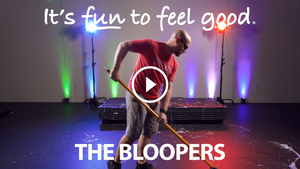 Blooper Reel - It's Fun to Feel Good [Music Video]