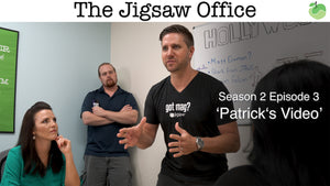 The Jigsaw Office Season 2 Episode 3: 'Patrick's Video' | #FunnyFriday