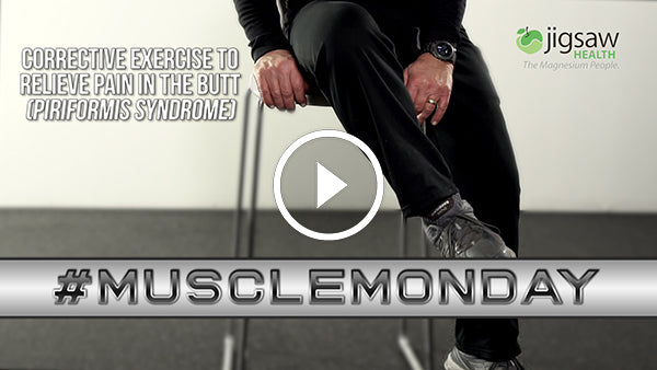 Corrective Exercise to Relieve Pain in the Butt (Piriformis Syndrome) | #MuscleMonday