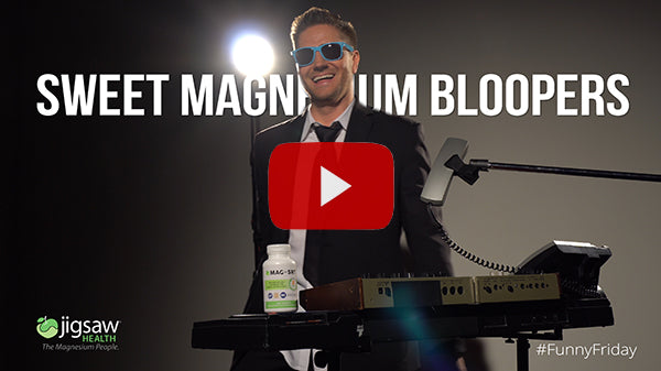 Sweet Magnesium Bloopers | #FunnyFriday