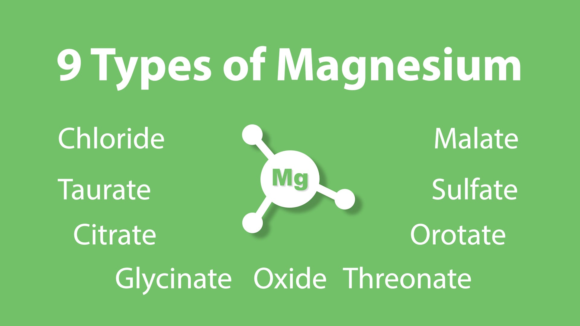 9 Types of Magnesium with Thomas DeLauer
