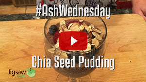 Chia Seed Pudding | #AshWednesday