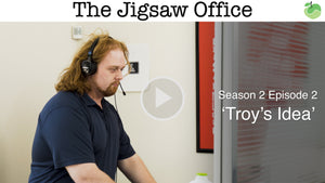 The Jigsaw Office Season 2 Episode 2: 'Troy's Idea' | #FunnyFriday