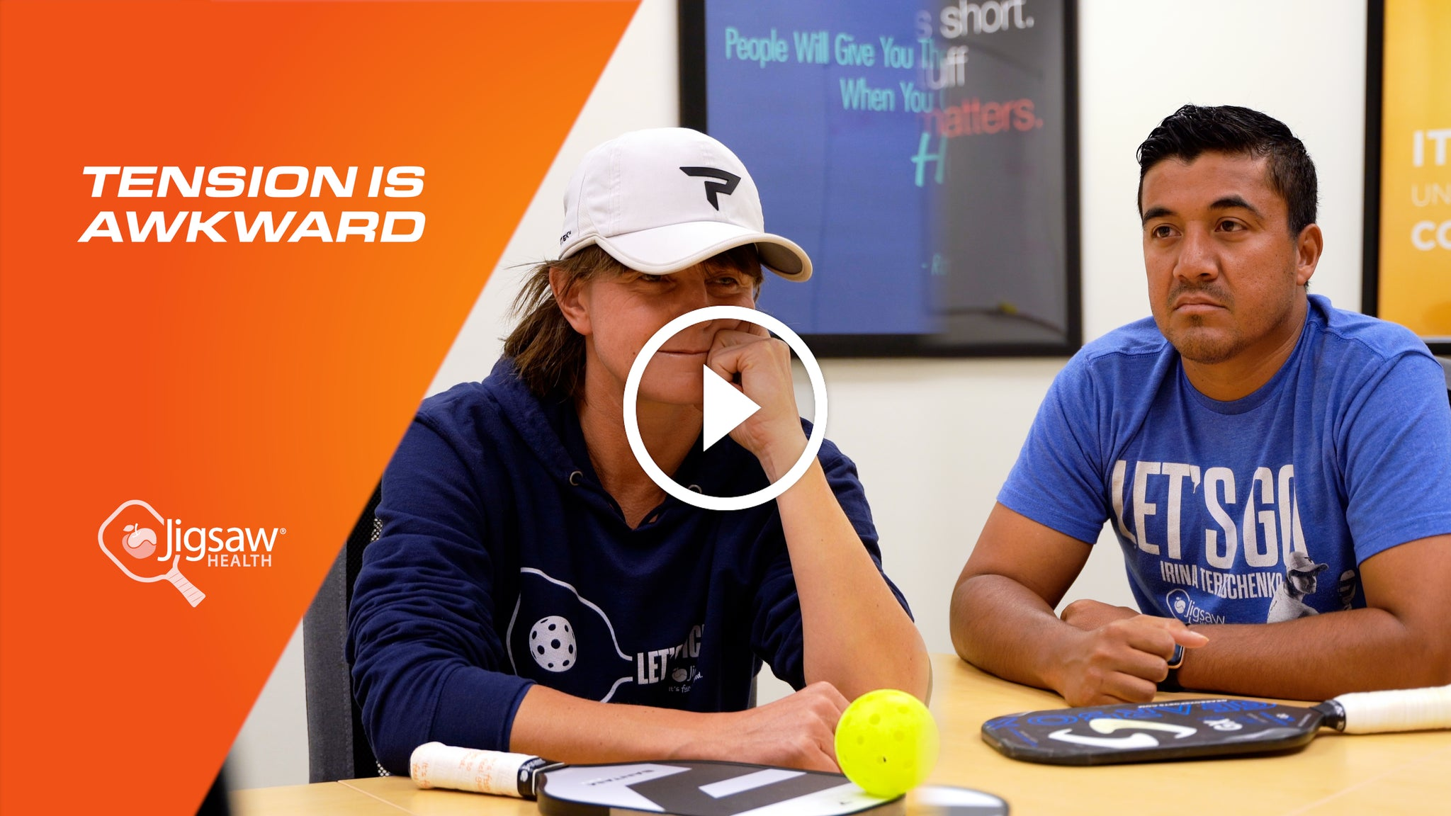 Tension is Awkward (feat. Irina Tereschenko & Joey Farias) | We Love Pickleball, Too