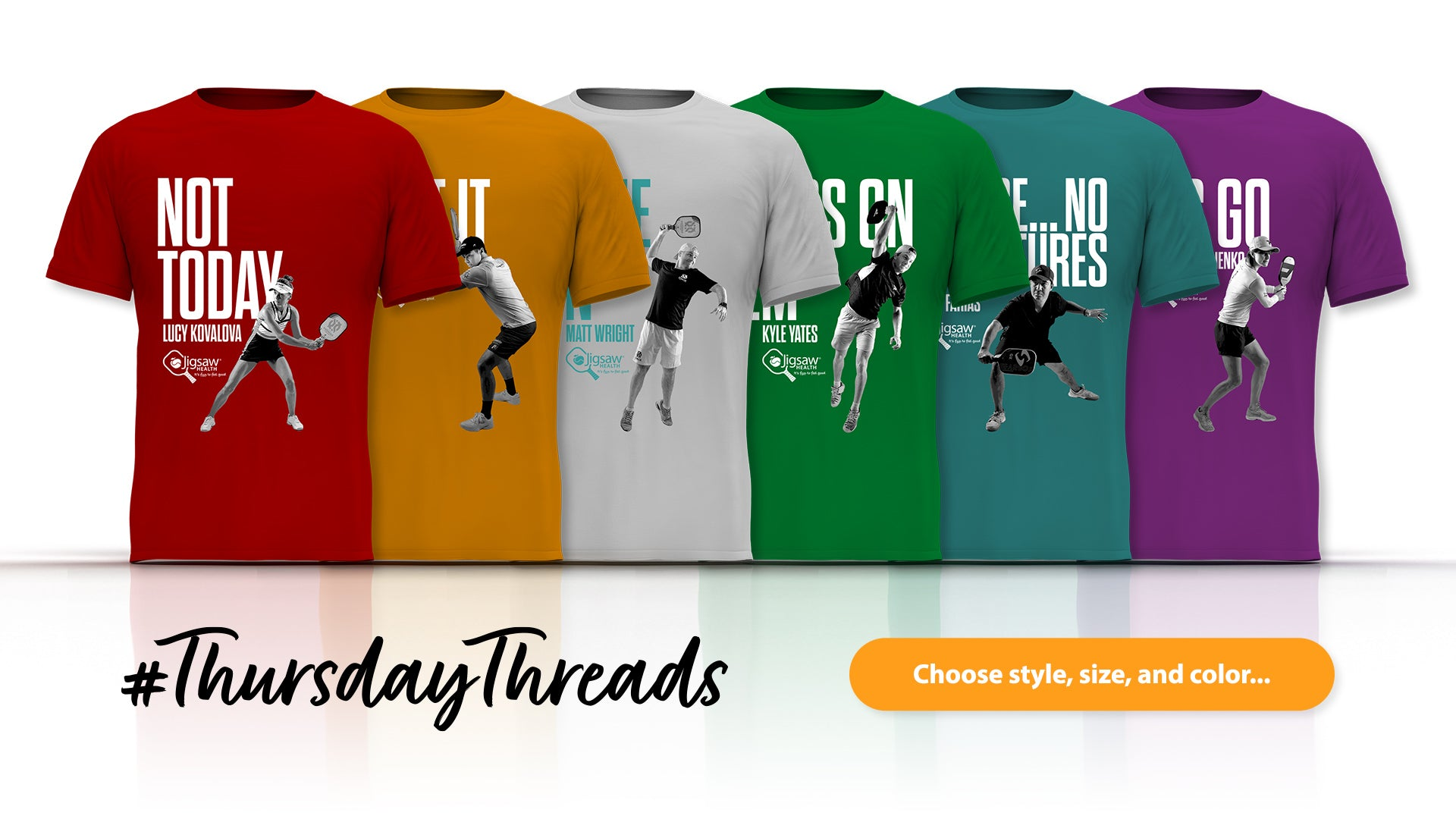 Pickleball Shirts New Colors & Styles | #ThursdayThreads