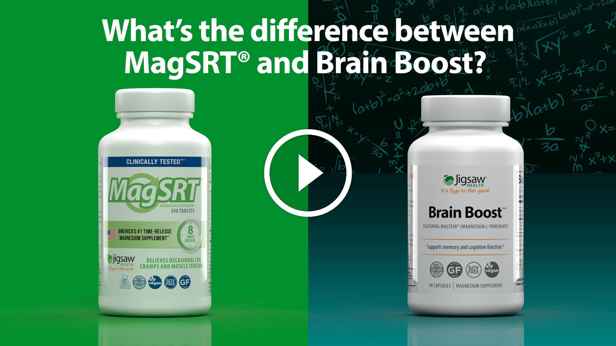 What is the Difference between MagSRT® and Brain Boost™?