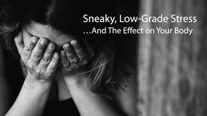 Sneaky, Low-Grade Stress and The Effect on Your Body