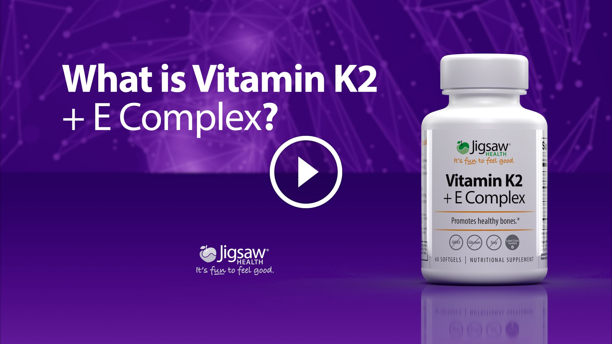 Vitamin K2 + E Complex by Jigsaw Health