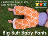 Big Butt Baby Pants Sewing Pattern PDF