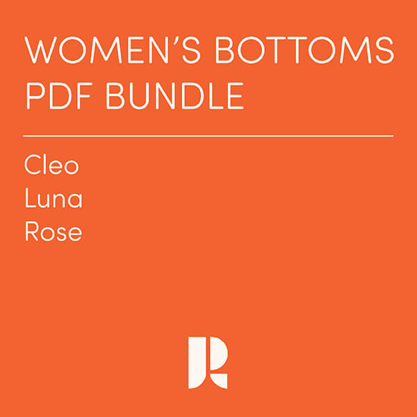 Women's Bottoms PDF Bundle