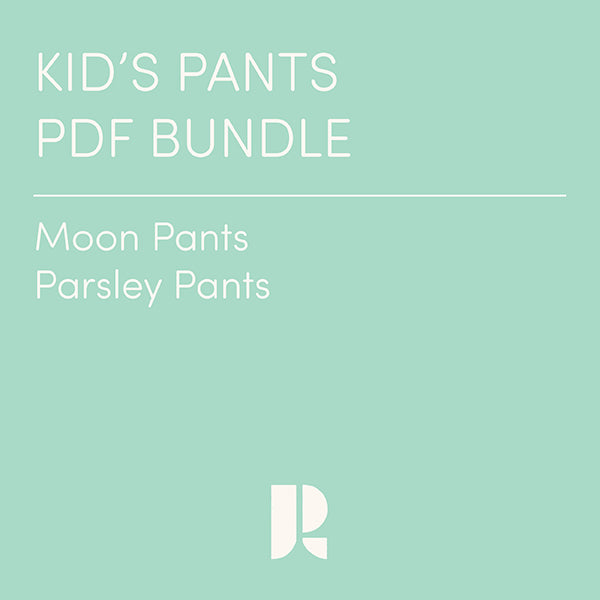Kids' Pants Patterns PDF Bundle