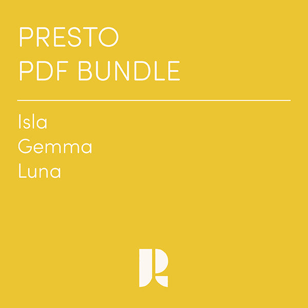 Presto Patterns PDF Bundle