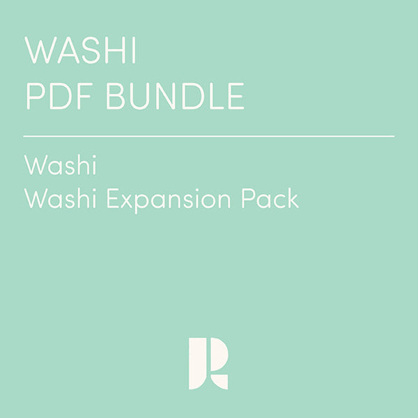 Washi PDF Bundle